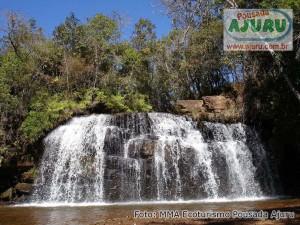 Cachoeira Duas Quedas em Aiuruoca-MG