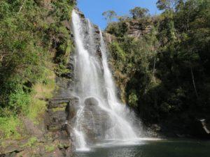 Cachoeira dos Garcias em Aiuruoca-MG